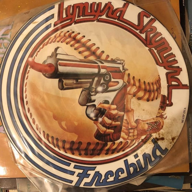 Going through some of my really old records and found this tasteful Freebird picture disc.