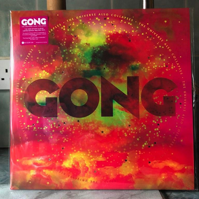 Happy day. The new Gong album has arrived.