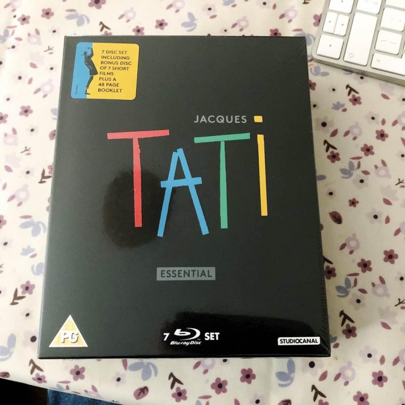 Essential Jacques Tati Blu-ray collection. A little birthday present for myself.