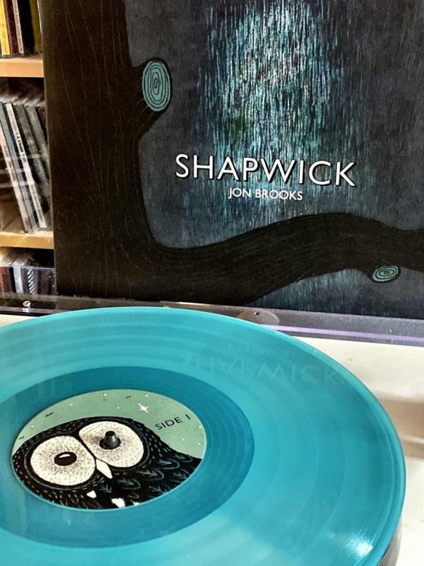 Shapwick - Jon Brooks. I love these Clay Pipe Music records.